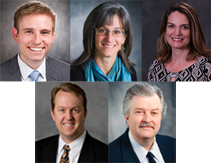 Formal portraits of the Lake Washington School District Board members