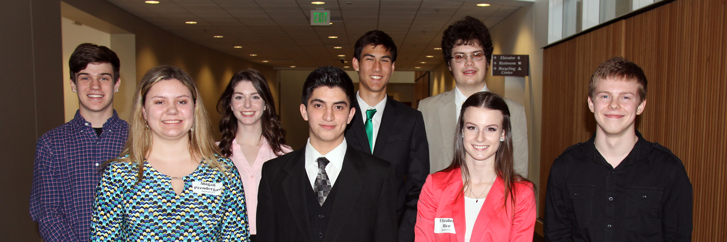 Teen CEO participants posing for a photo.