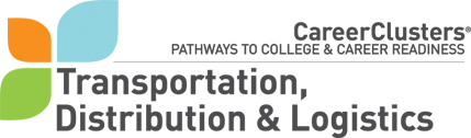 CTE Program logo: Transportation, Distribution & Logistics