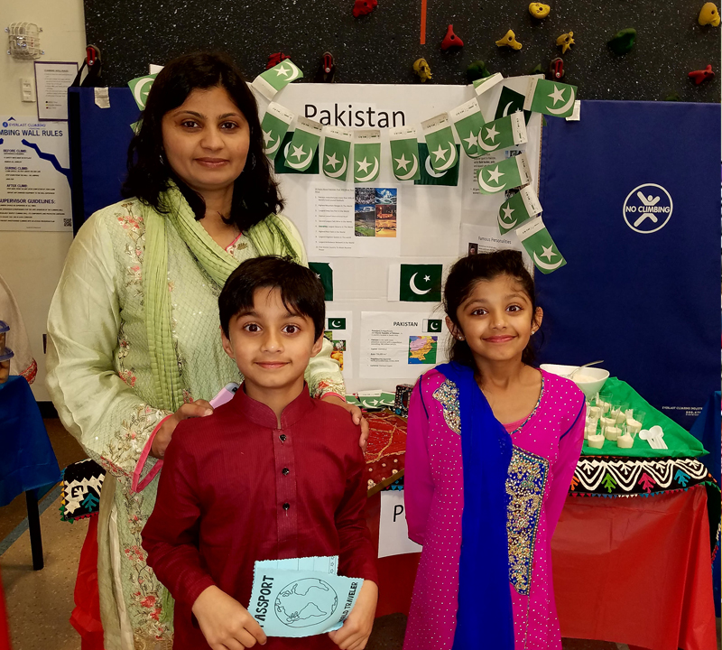 Muir families travel abroad at Heritage Night