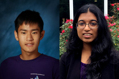 Research lands two LWSD students in Top 300 of Regeneron Science Talent Search