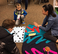 Cultural Game Night at Rose Hill Elementary School