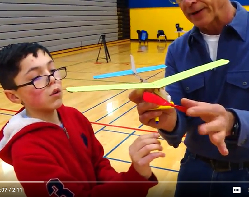 "Model Airplane Club teaches students ""how things work"""