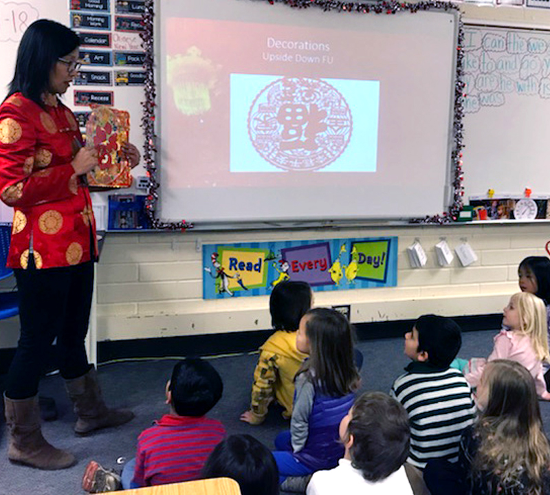 Orange you glad? Class gets taste of sweet Lunar New Year tradition