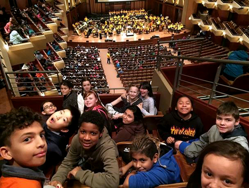 "Fifth-graders ""Link Up"" with the Seattle Symphony"