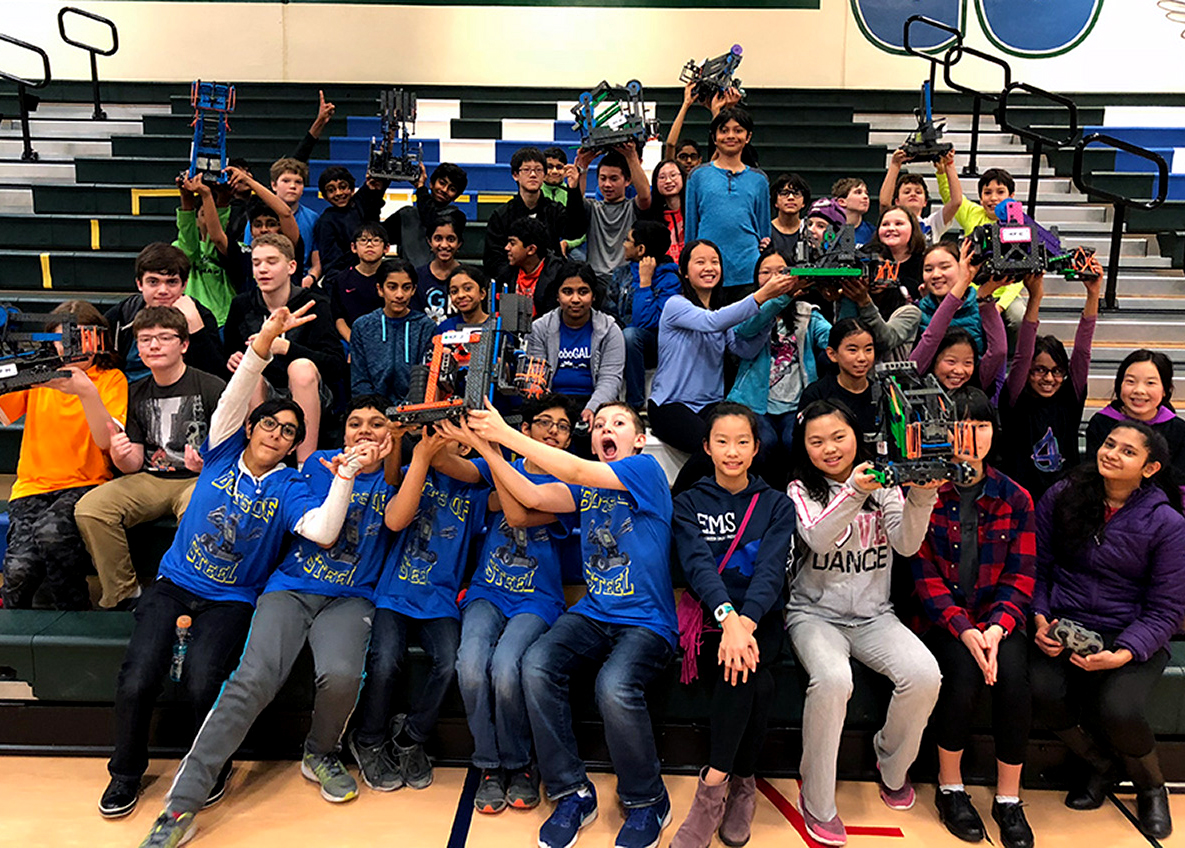 Three LWSD VEX IQ teams to compete at world competition