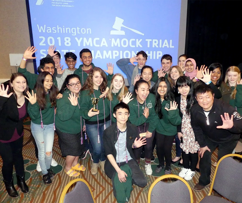 All rise – ICS lands in top five in mock trial competition