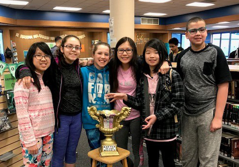 Evergreen wins middle school Battle of the Books