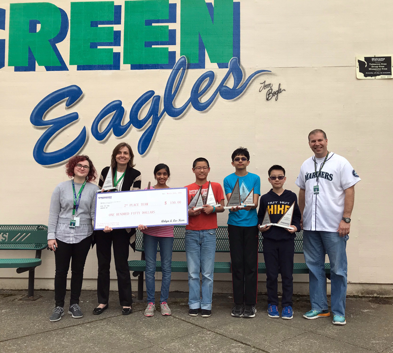 1-2-3, on to D.C. – Evergreen MS students move to nationals for MATHCOUNTS competition