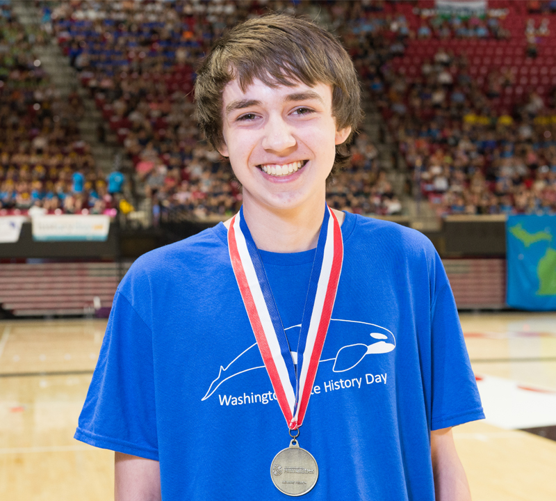 Making history – Kamiakin student takes first place at National History Day in D.C.