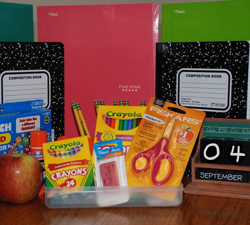 2018-19 school supply lists are now available