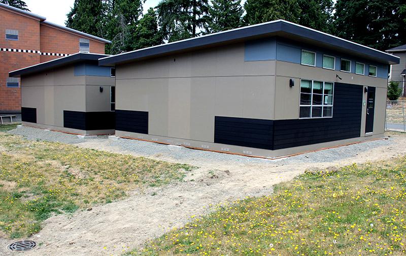 Sage Modular Classroom ~ Ten energy efficient portable classrooms installed at lake