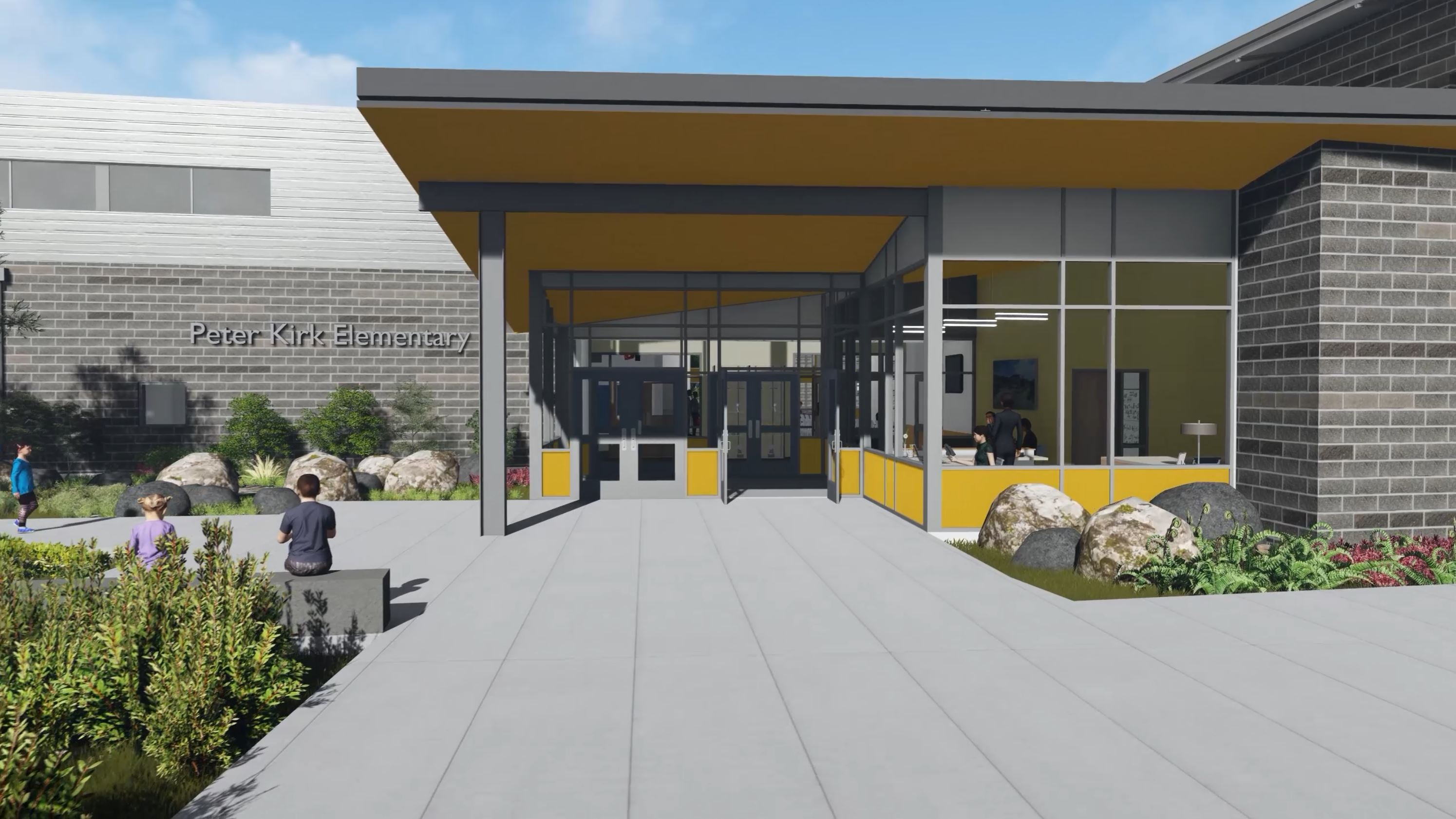 A 3D virtual tour of the new Peter Kirk Elementary