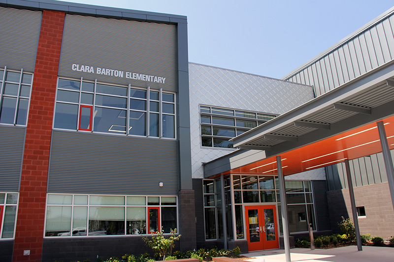 Video: New Clara Barton Elementary School focused on service