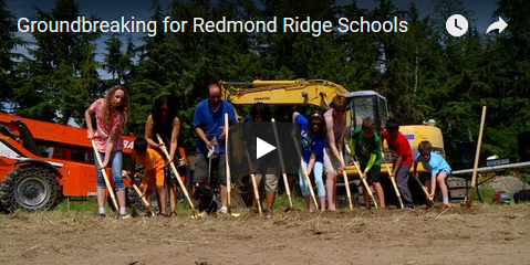 Video: Groundbreaking for Redmond Ridge Schools