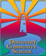 Discovery Community School logo - lighthouse