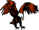 Franklin mascot - eagle