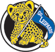 Lakeview Elementary Go Leopards logo - leopard