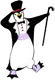 Northstar logo: dancing penguin