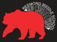 RMS logo: red bear