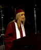 EHS graduate speaks during graduation