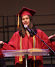 ICS graduate speaks during graduation