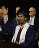 LWHS graduate speaks during graduation